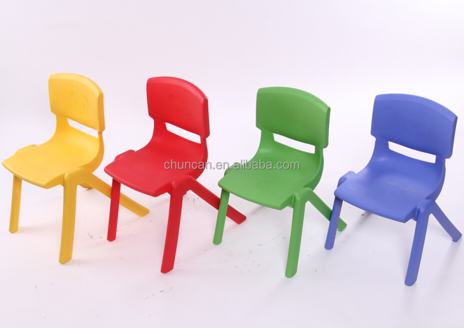 2015 New Cheap Plastic Colorful Chair PP Injection Molded Chairs For Baby 3  Sizes Plastic Chairs