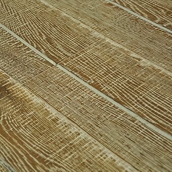 German technic antique hickory three-layer solid wood flooring