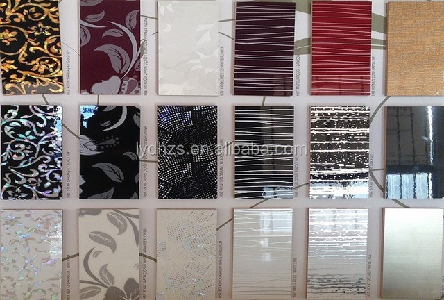 Clear / Red Durable Engraving 12mm Acrylic MDF Board For Kitchen Cabinet