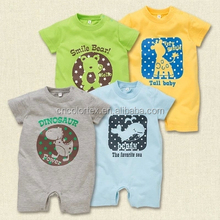Wholesale high quality cotton plain baby creeper