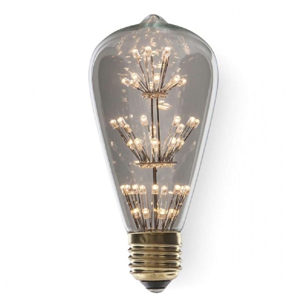 New Design St64 Fireworks Led Light Bulb E27 Edison Vintage Style ...