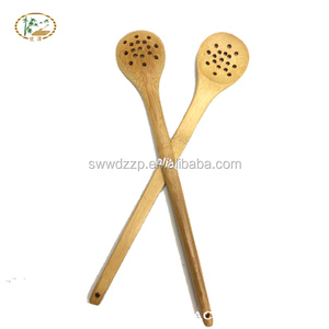 eco-friendly food grade slot spoon for Pasta slotted spatula spoon spoons