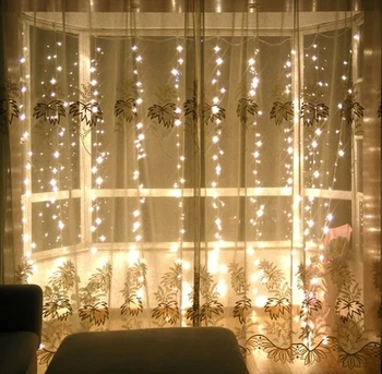 popular window furniture decorative ul adapter flashing curtain