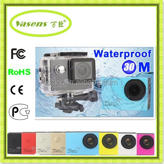 Wifi Under Water 60M Sports Camera 2-inch Screen 24fps hero action Camera 1080p manual car camera hd dvr