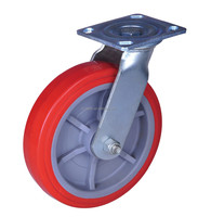 swivel caster no brake PP/PU wheel heavy duty wheels