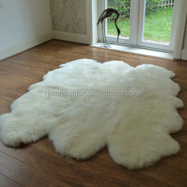 Great best price wool sheepskin carpet real fur car seat pads