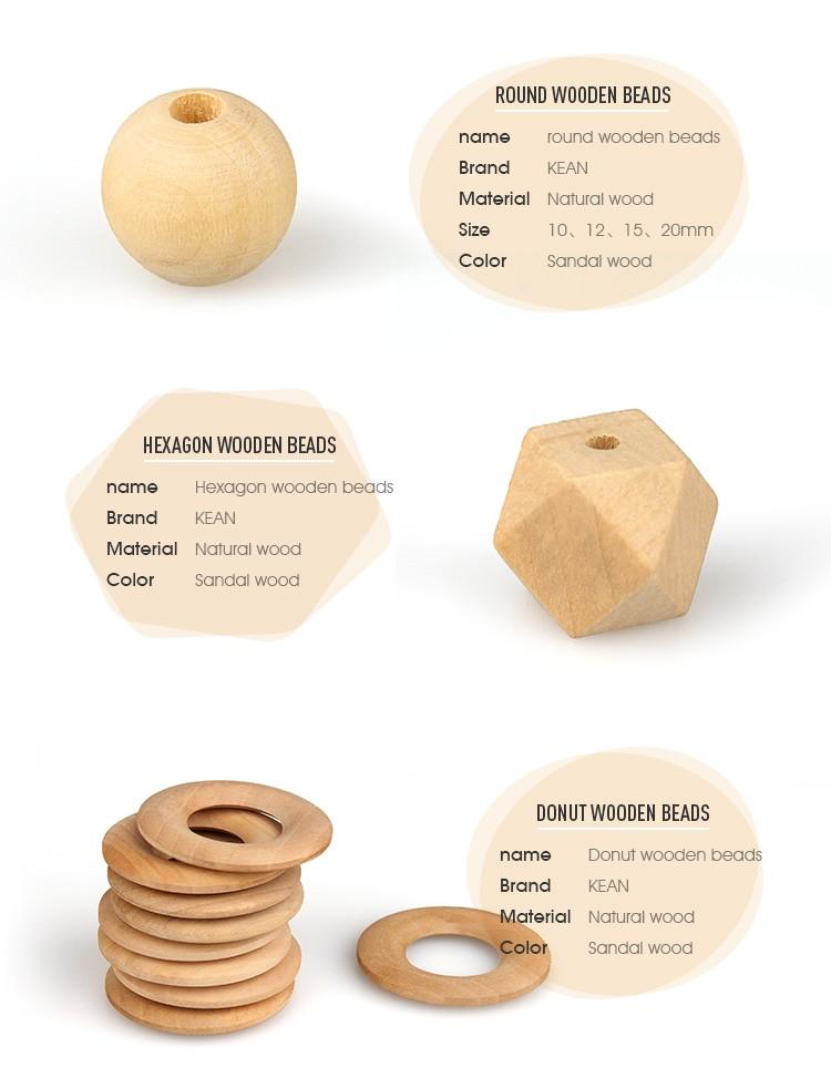 Wholesale 20mm hexagon wooden craft beads buy hexagon for Wooden craft supplies wholesale