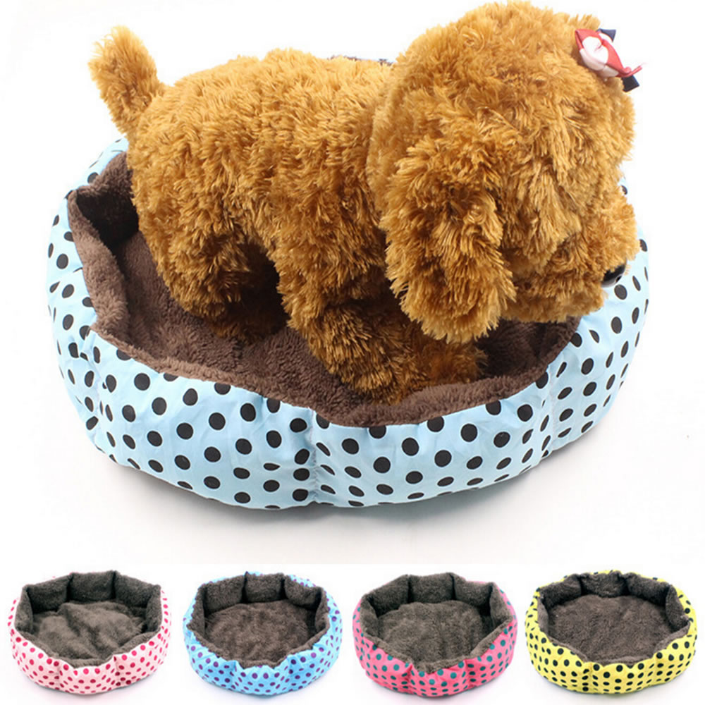 Fashion Wholesale Cotton Soft Pet Bed Puppy Cat Dog Cushion