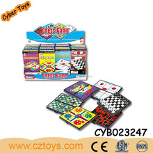 Education Toys Magnetic International Flight Chess And Snake Ladder And Checkers And Western And tic-tac-toe