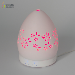 Portable Installation Porcelain cool mist diffuser for home spa hotel