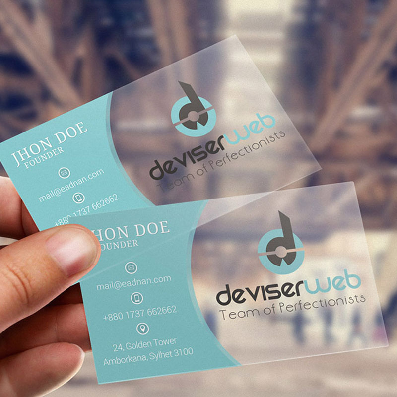Thick Business Frosted Plastic Card 0.76mm - Buy Business Plastic ...
