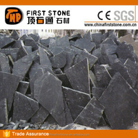 HS018 Black Outdoor Slate Stepping Stones
