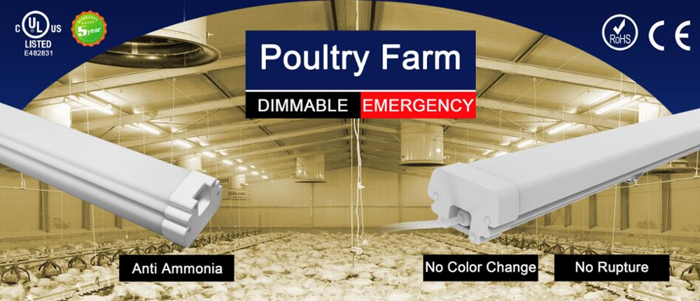 LED Poultry lighting 2ft 4ft 8ft