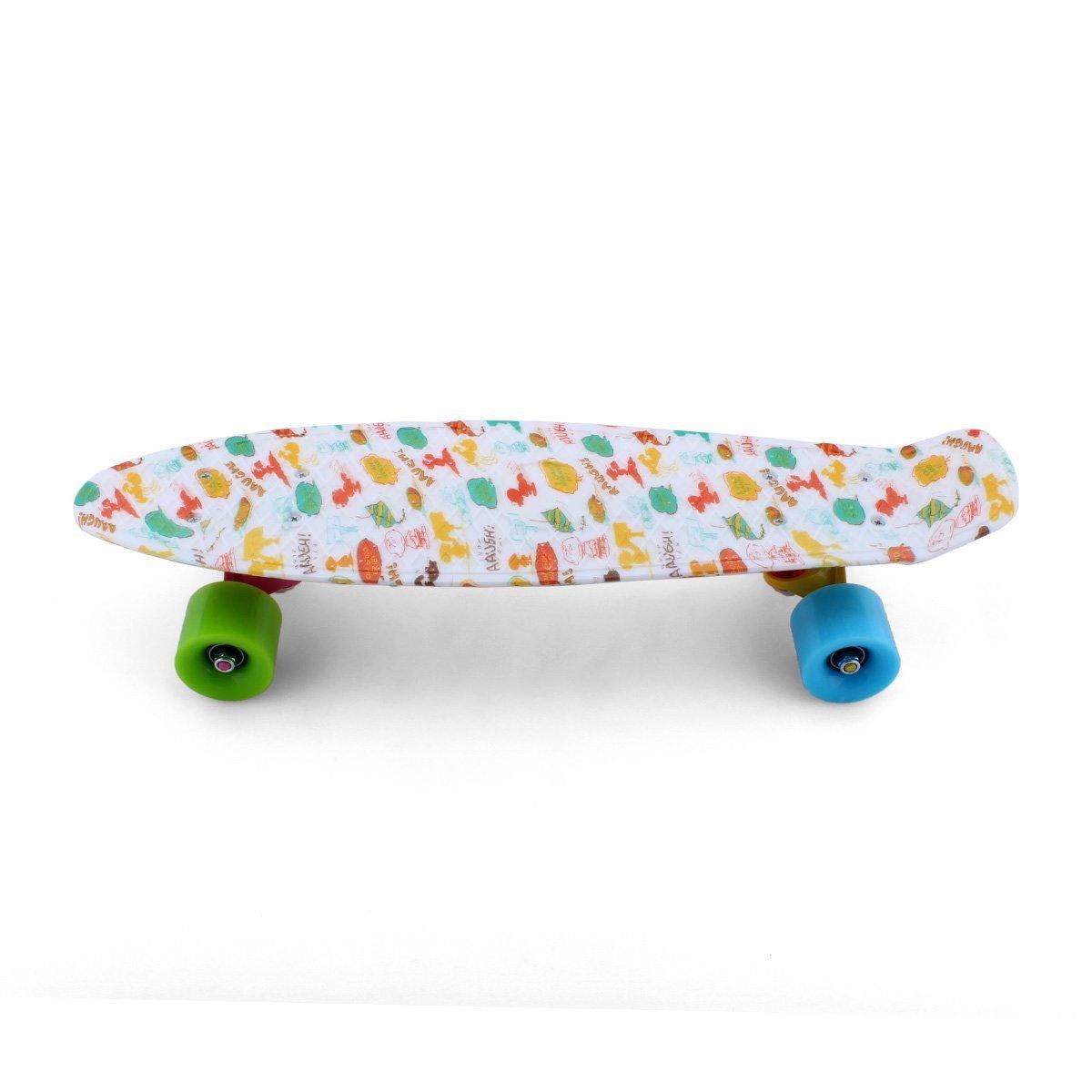 "Skateboards skateboards for kids Mini Board Complete 22"" Retro Skateboards New For Penny Style Plastic skateboards skateboards for boys/girls Cartoon"