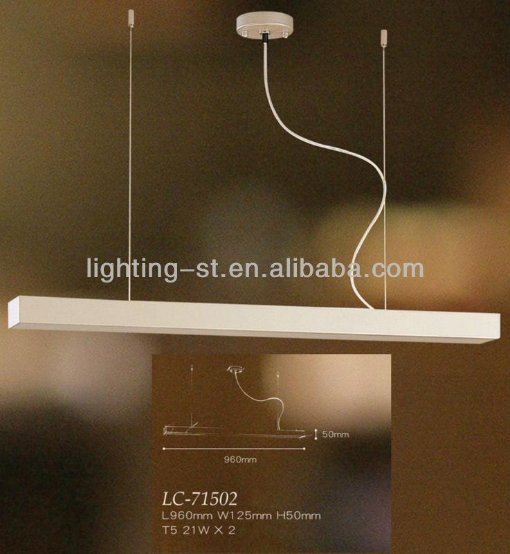 Linear Suspension Lights Manufacturers 960mm Long Pendant Lights ...