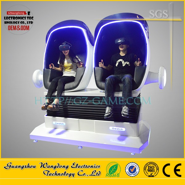 Top Quality 1 Seat 9D Robot, Quick Return New Virtual Reality Technology, Wangdong Top Selling Shopping Mall Investment