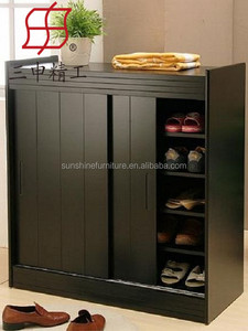 Fashion may be sliding door shoe cabinet