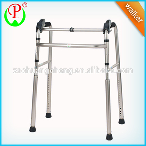 Aluminum foldable stair climbing walker for elderly people,walking cane