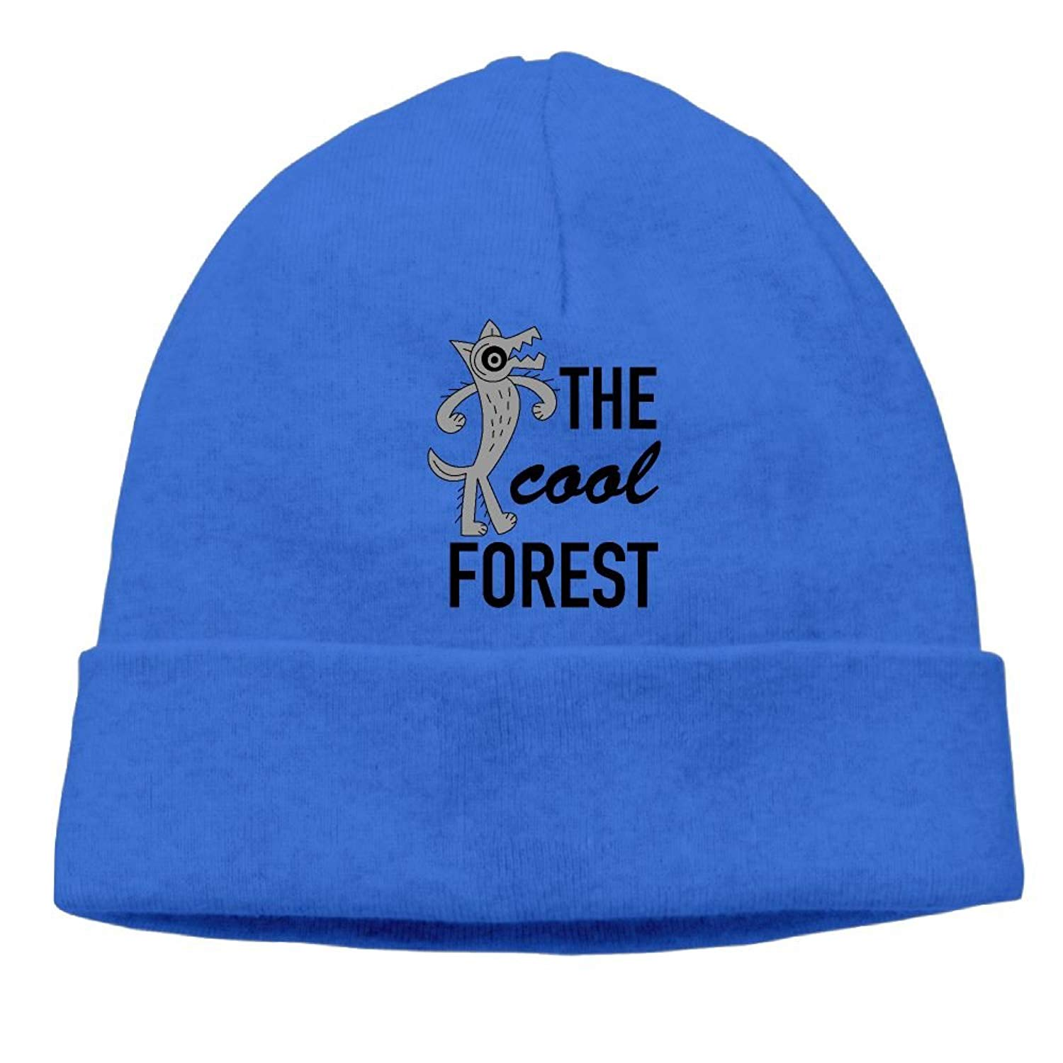 b6fb65ef3a9 Get Quotations · SEVENJIA The Cool Forest Wolf Wild Life Soft Knit Beanie  Hat Warm Thick Winter Hat For