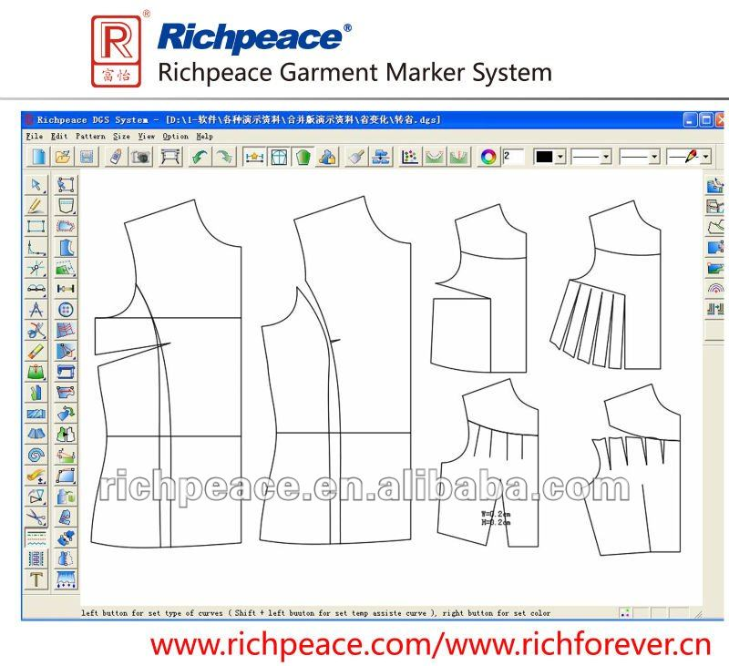 Richpeace Apparel Cad System Buy Richpeace Cad Software Pattern Design Garment Grading Garment Marker Auto Apparel Cad Product On Alibaba Com