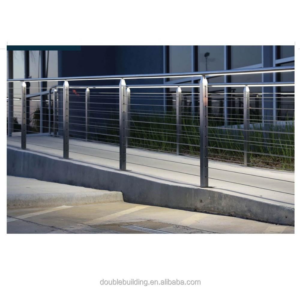 Finden Sie Hohe Qualität Stahl Kabel Geländer Hersteller und Stahl ...