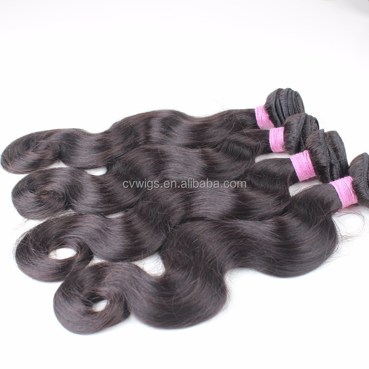 Factory wholesale top grade high quality brazilian hair for bundle hair vendors