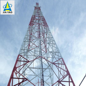 Factory supplying galvanized lattice angle steel structure wireless communicator radio televisions wifi antenna tower