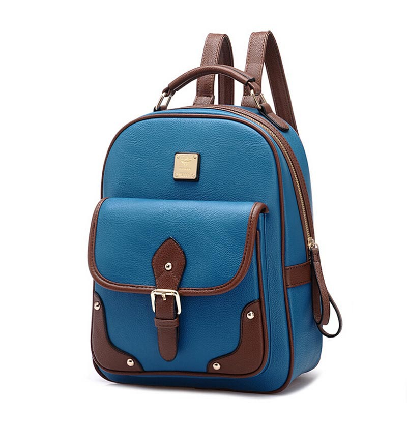 Buy Hotsale Vintage Rivet Brown Women Backpack for Girls Fashion Leather  School Backpack School Bags for Women Backpack in Cheap Price on  m.alibaba.com 2558a7d0dc175
