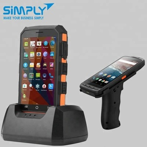 handheld bluetooth android long rang rfid reader with 125khz 13 56mhz nfc  uhf vhf smart card writer