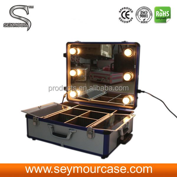Professional Makeup Case With Lights Lighting Makeup Case