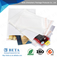 Secure Package White Kraft Bubble Mailer