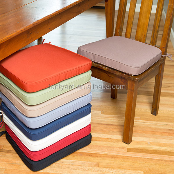 Custom dining room chair cushions