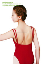 CN00023 Wholesale Women Girls Ballet Dance Adult Camisole Cotton Spandex Leotards