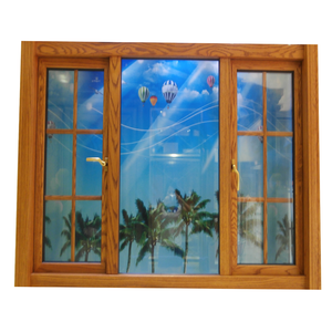 Modern house window design aluminium profile window grill designs home