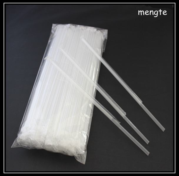Hot sale individual wrapped with OPP plastic clear drinking straw