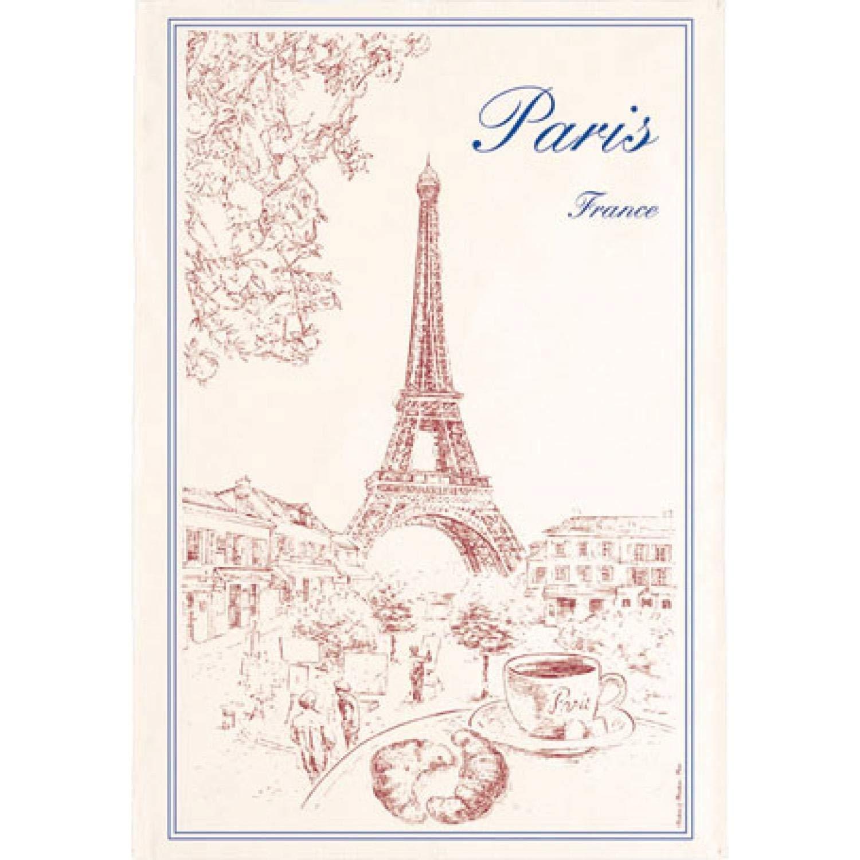 Paris Tour Eiffel Tea Towel by Torchons et Bouchons