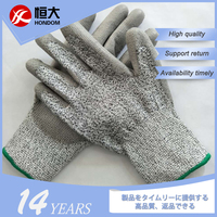 China Shopping Site Perfect Grasp Performance Nitrile Cut Resistant Gloves