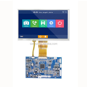 lcd display panel 5.6 inch 640x480 dots resistive touch screen built in RGB interface tft LCM
