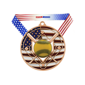 bulk buy cheap blank school award sports american baseball medal