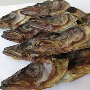 sea frozen dried cod fish head