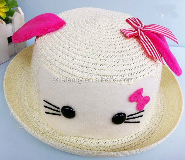 Cute Hello Kitty Hat Baby Hat Pattern Animal Hat Wholesale Qhad 1294