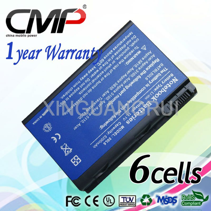 Cmp Laptop/notebook Battery For Acer Ak.006bt.014 3ur18650y-2-cpl ...