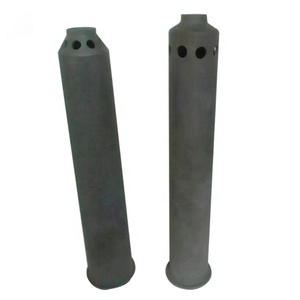 Refractory Silicon Carbide Burner Tubes used in Kilns as gas flaming tube