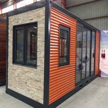 China plans Culture stone wall modular steel glass mobile tiny durable shipping cheap modern container house