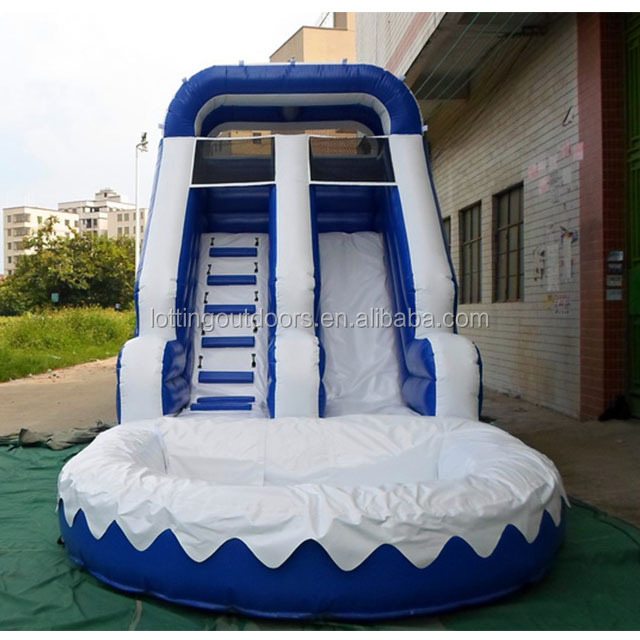 Lotting double slide SAM_0713 indoor/outdoor children play ground for kids