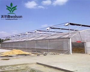 Commercial Venlo Well Control Co2 Generator Greenhouse With Project-commercial Hydroponic Systems For Sale