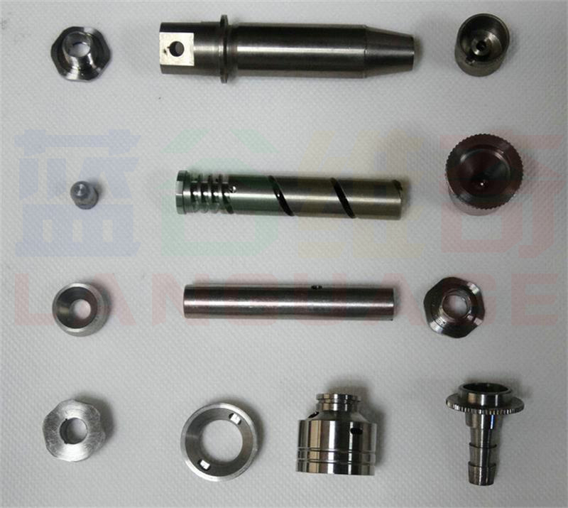 Steel and cable end cap custom turning service for wire or rope