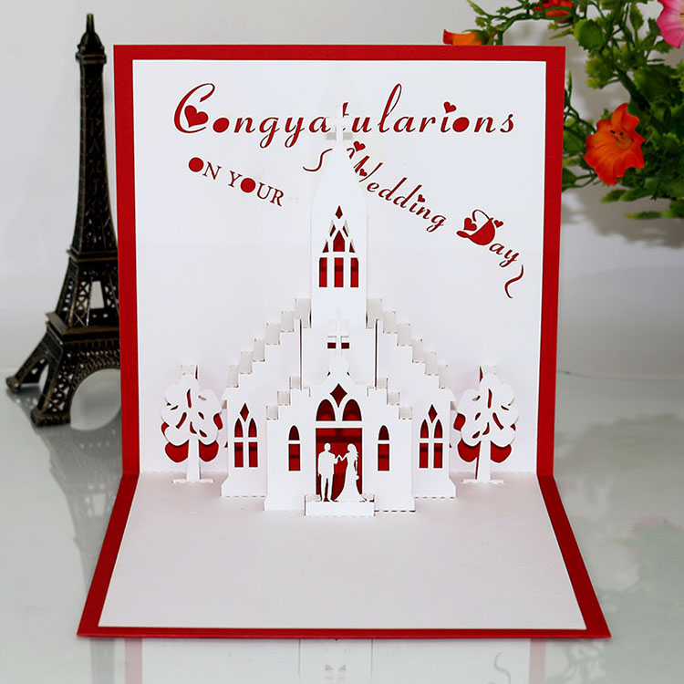 Chinese supplier laser cut 3d happy wedding christmas birthday cards chinese supplier laser cut 3d happy wedding christmas birthday cards greeting cards handmade pop up greeting bookmarktalkfo Images