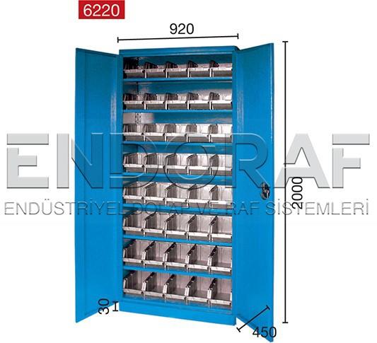 40 Bo Steel Parts Bin Storage