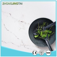 Glory Engineered Quartz Slab Composite Quartz Countertops White
